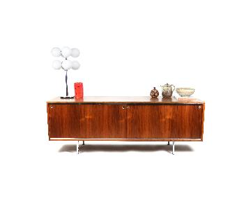 Herman Miller Walnut Executive Office Group Credenza