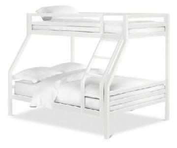 Room & Board Fort Bunk Bed in White
