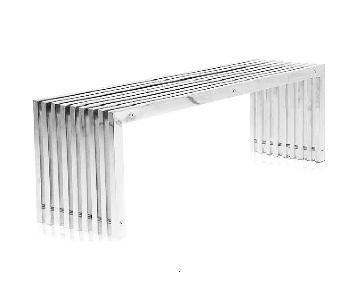Modani Modern Italian Metal Bench