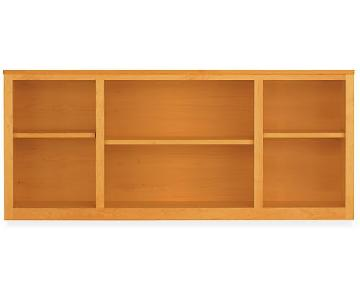 Room & Board Woodwind Console Bookcase in Cherry