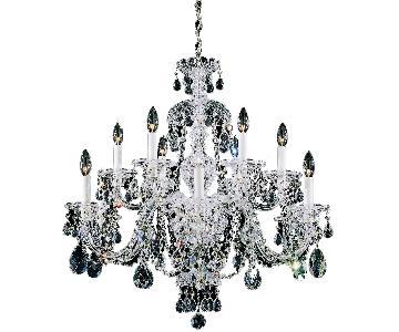 Schonbek Classic 12 Light Crystal Chandelier