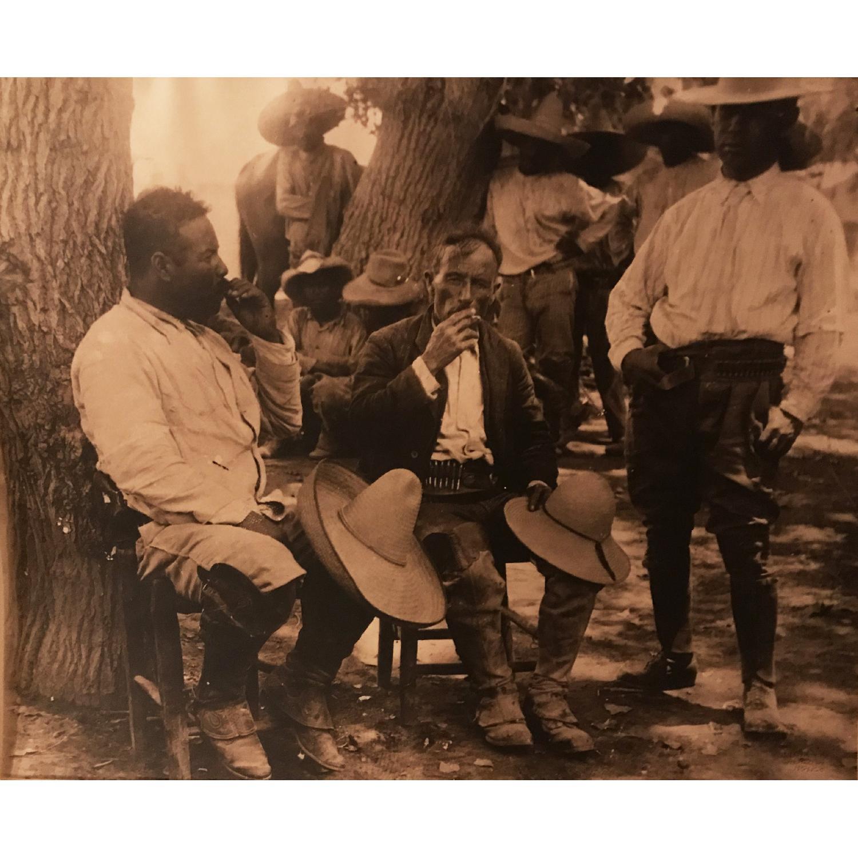 Pancho Villa Mexican Revolutionaries Large Print