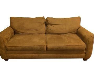 Broyhill Furniture Microsuede Sleeper Sofa