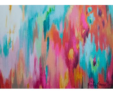 Kristy Gammill Multicolor Abstract Painting