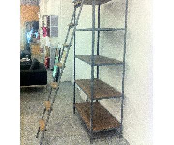 ABC Carpet and Home Large Storage Unit/Book Shelf