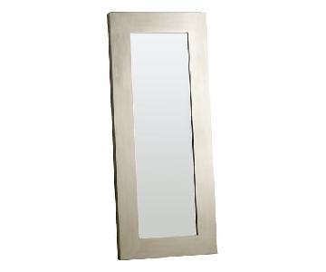 West Elm Silver Mirror