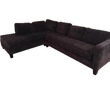 Jonathan Louis Calista Modern Sectional Sofa