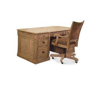 Macy's Sherborne Executive Desk & Chair