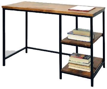 World Market Wood & Metal Williard Desk