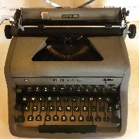 ROAYAL vintage typewriter