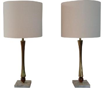 Gerald Thurston Style Table Lamps