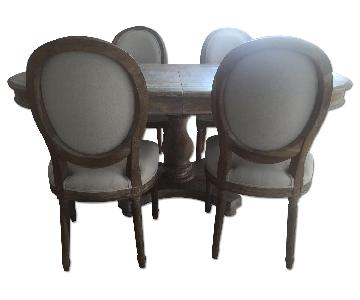 ABC Dining Room Table w/ 4 Chairs