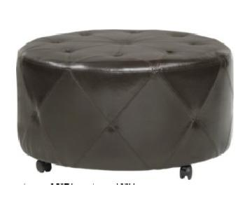 Rooms To Go Silvio Brown Cocktail Ottoman