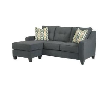Ashley Gray Sectional Sofa w/ Chaise