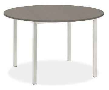 Room & Board Portica Round Table in Pebble Quartz