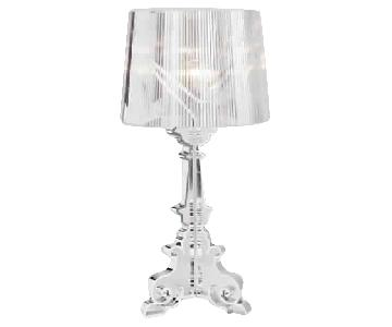Anthropologie Clear Table Lamp