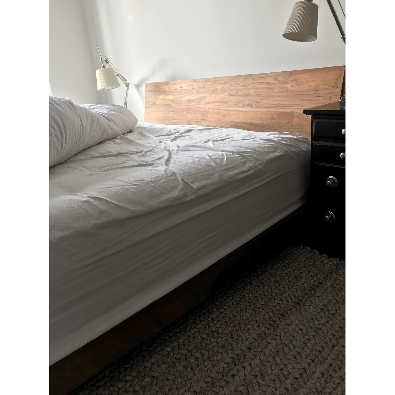 CB2 Dondra Teak Queen Bed-3
