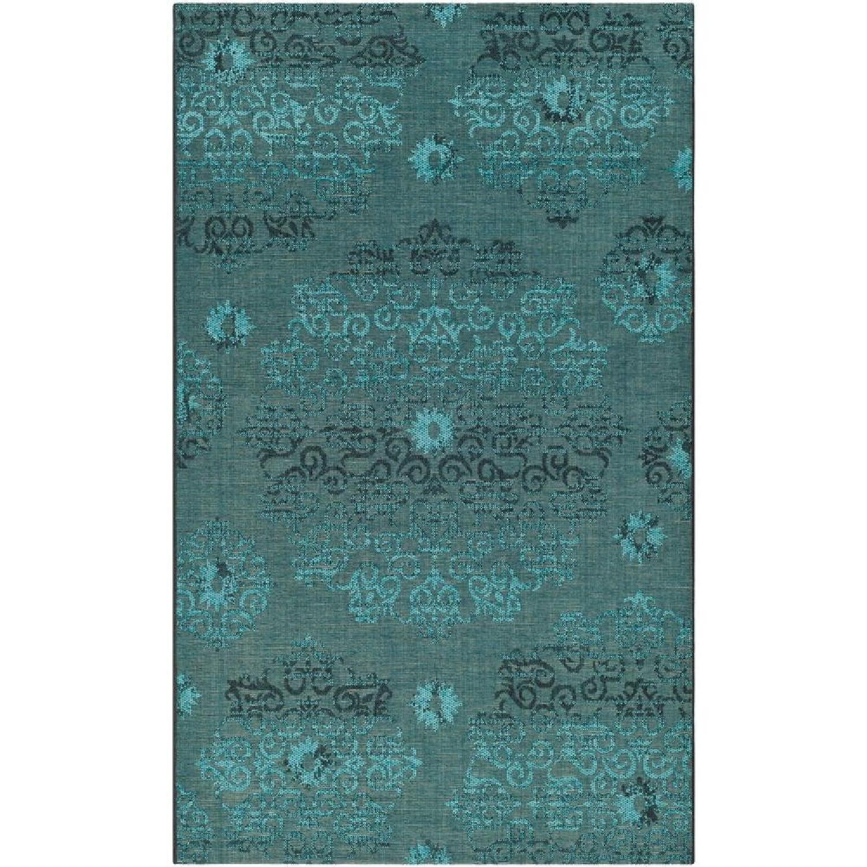 Safavieh Turquoise & Black Area Rug