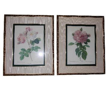 Bombay Company Floral Prints