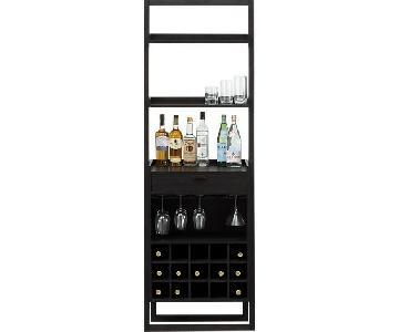 Crate & Barrel Sloane Leaning Wine Bar
