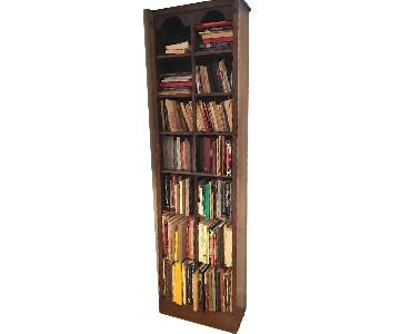 Curtis Mahogany Free-Standing Bookcase