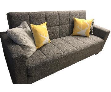Light Grey Sleeper Sofa