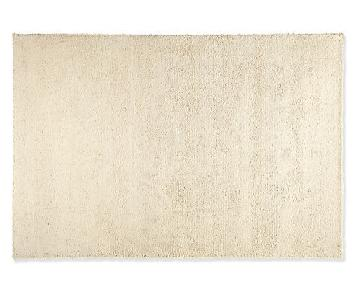 Room & Board Ivory Shag Area Rug