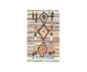 West Elm Boho Chic Wool Rug