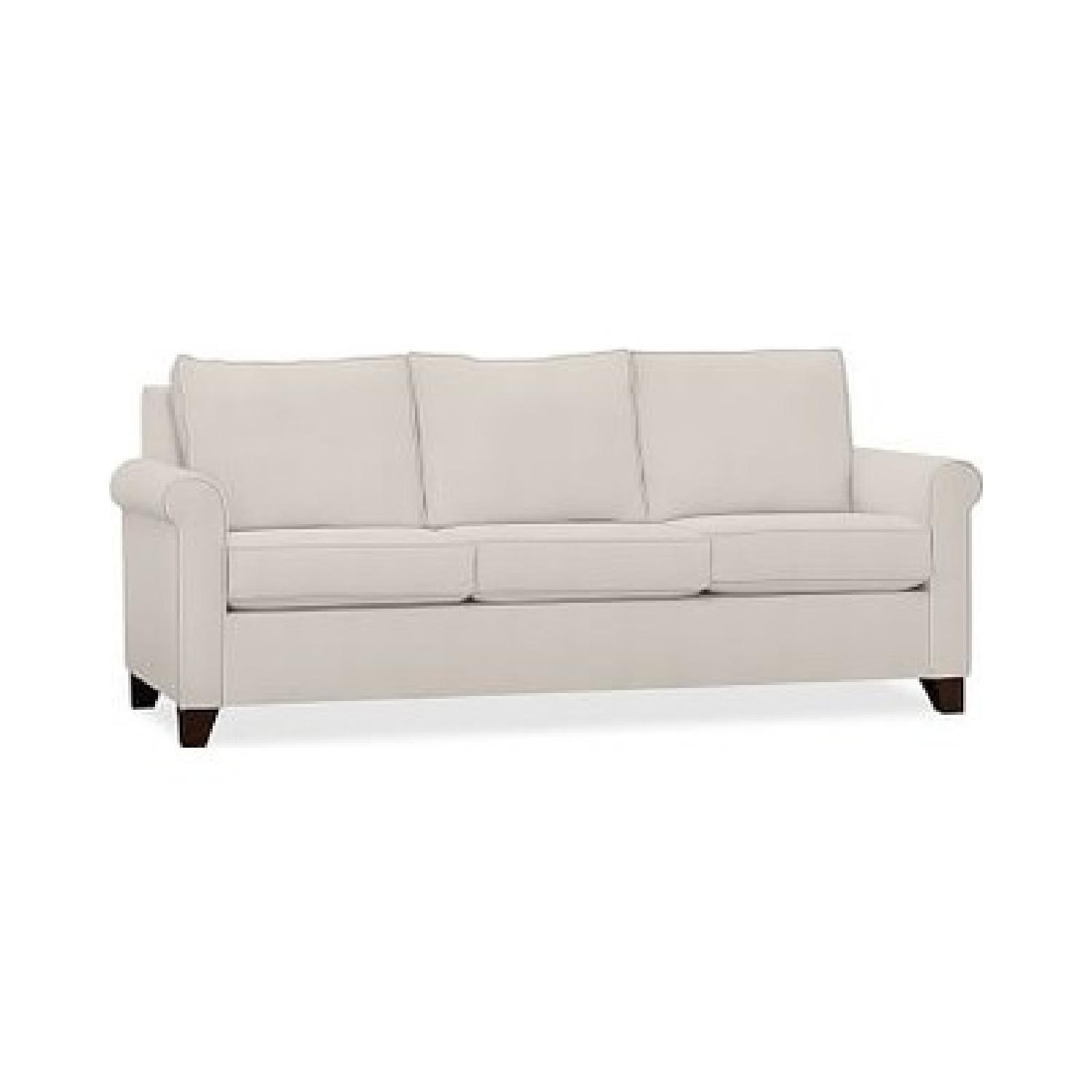 Pottery Barn Cameron Roll Arm Upholstered Sofa