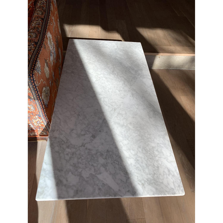 West Elm Marble Coffee Table-0