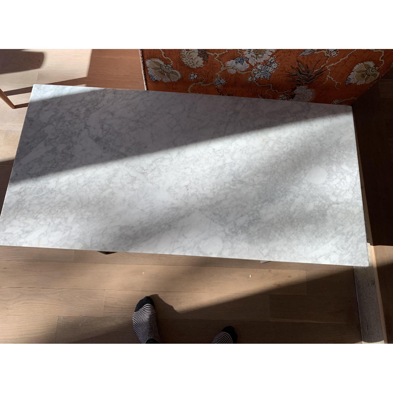 West Elm Marble Coffee Table-2