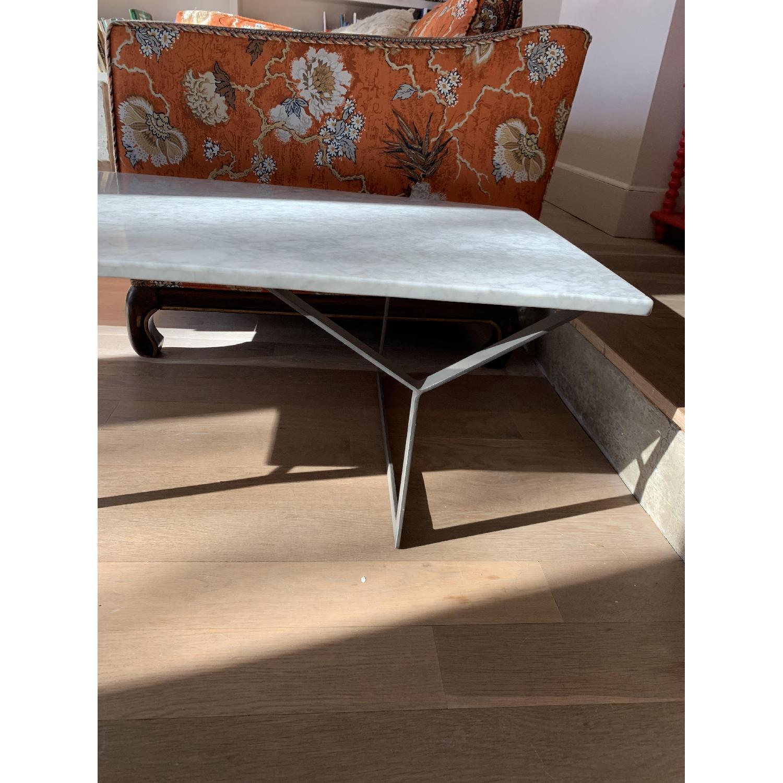 West Elm Marble Coffee Table-4