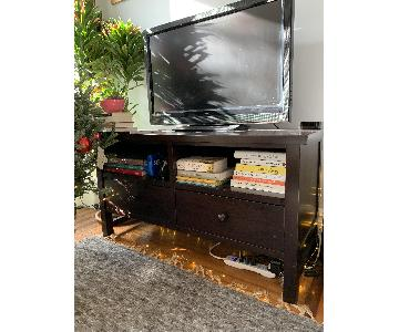 Pottery Barn TV Stand w/ 2 Drawers