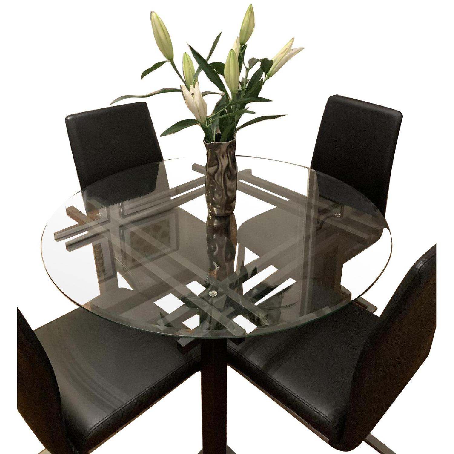 Modern Dining Table w/ 4 Chairs
