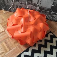 Orange Modern Pendant Light