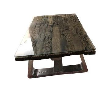 ABC Carpet & Home Timothy Oulton Trestle Coffee Table