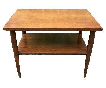 Mid Century 1950's Bi-Level Coffee Table