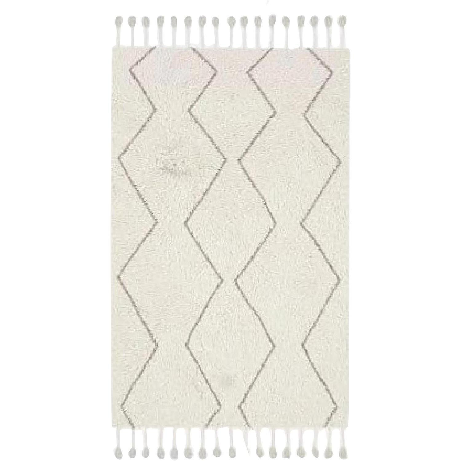 West Elm Souk Wool Rug in Natural