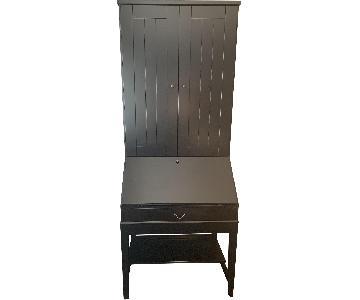 Ikea Hemnes Secretary Desk w/ Additional Hutch