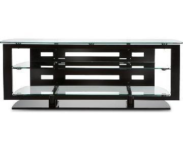 BDI Furniture Glass TV Stand/Media Storage