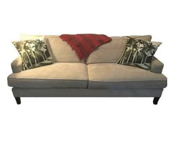 Room & Board Hawthorne Tan 2-Cushion Sofa