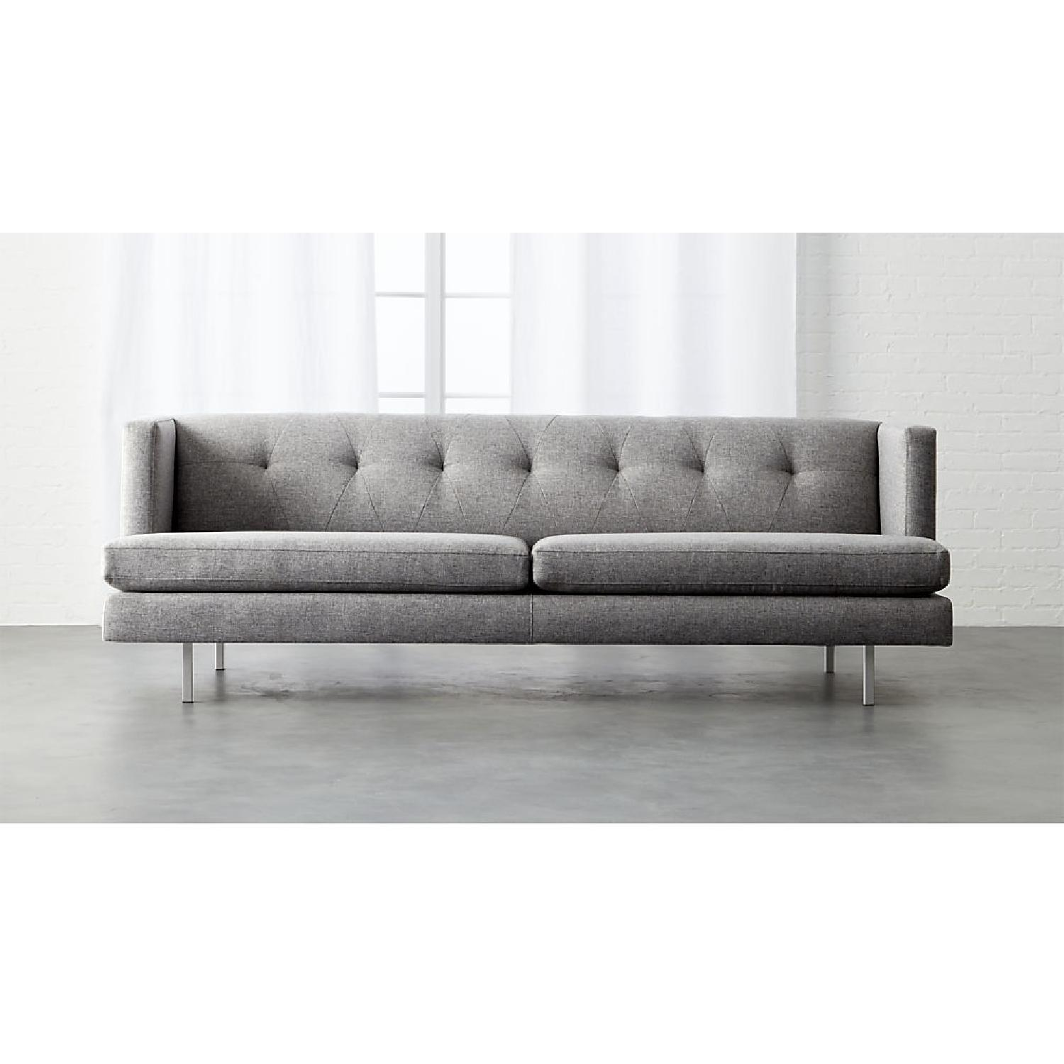 CB2 Central Grey Sofa-0