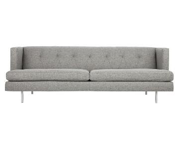 CB2 Central Grey Sofa