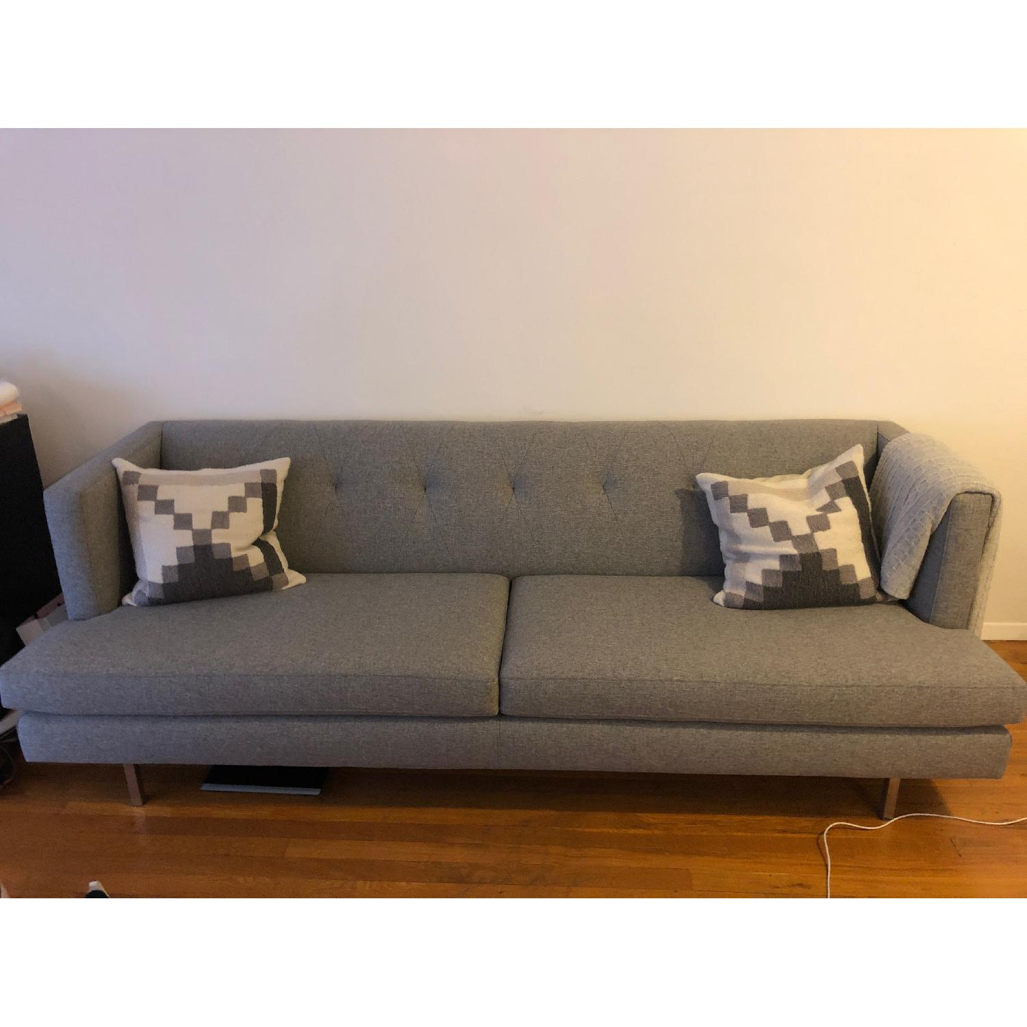 CB2 Central Grey Sofa-1