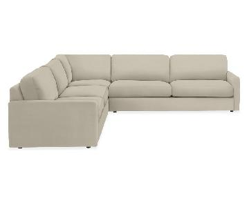 Room & Board Easton 3-Piece Sectional Sofa
