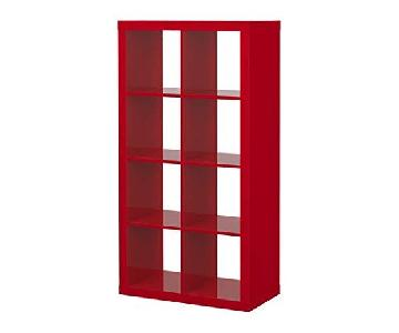 Ikea Expedit Red Cube Bookcase/Room Divider
