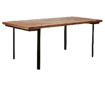 West Elm Industrial Dining Table