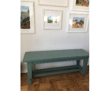Pottery Barn Blakely Rustic Bench