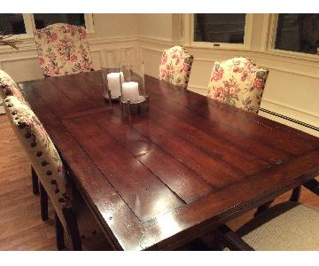 Macy's Dining Table w/ 6 Chairs
