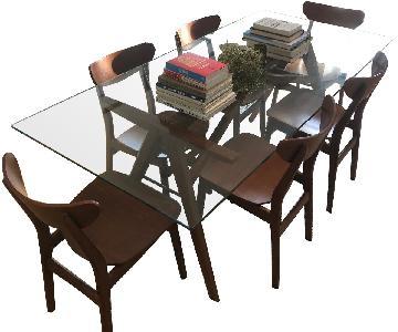 West Elm Jensen 7-Piece Dining Set